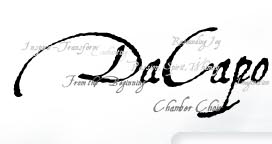 DaCapo Chamber Choir Logo